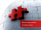 Consulting: Installation Of Part Of The Whole PowerPoint Template #08511