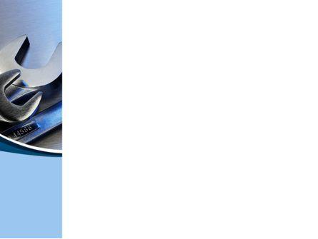 Metal Spanners PowerPoint Template, Slide 3, 08513, Utilities/Industrial — PoweredTemplate.com