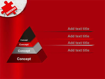 Success Puzzle PowerPoint Template Slide 12