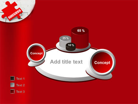 Success Puzzle PowerPoint Template Slide 16