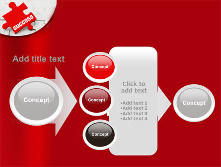 Success Puzzle PowerPoint Template Slide 17