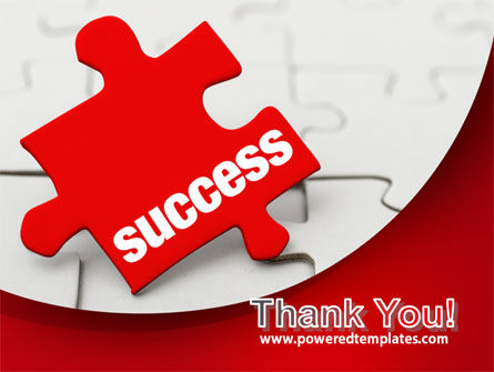 Success Puzzle PowerPoint Template Slide 20