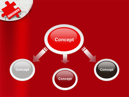 Success Puzzle PowerPoint Template Slide 4