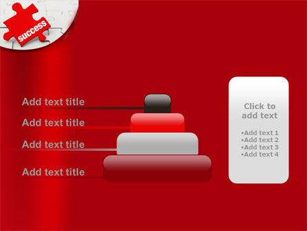 Success Puzzle PowerPoint Template Slide 8