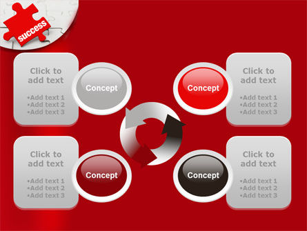 Success Puzzle PowerPoint Template Slide 9