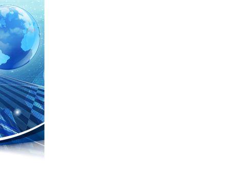 Business Planet PowerPoint Template, Slide 3, 08515, Global — PoweredTemplate.com