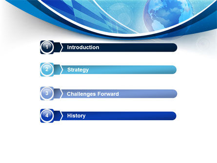 Business Planet PowerPoint Template Slide 3