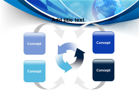 Business Planet PowerPoint Template Slide 6