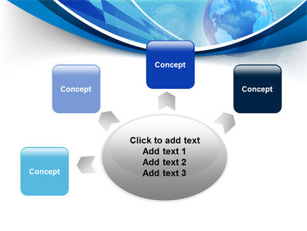 Business Planet PowerPoint Template Slide 7