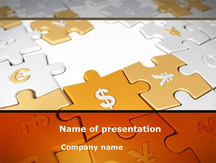Currency Exchange PowerPoint Template, 08517, Financial/Accounting — PoweredTemplate.com