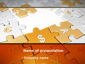 Financial/Accounting: Currency Exchange PowerPoint Template #08517