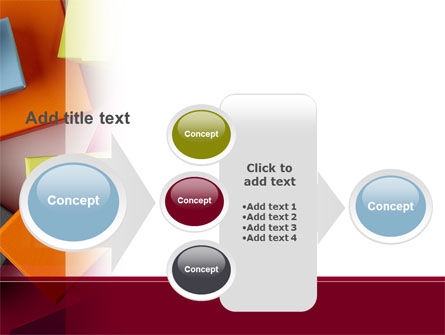 Fancy Boxes PowerPoint Template Slide 17