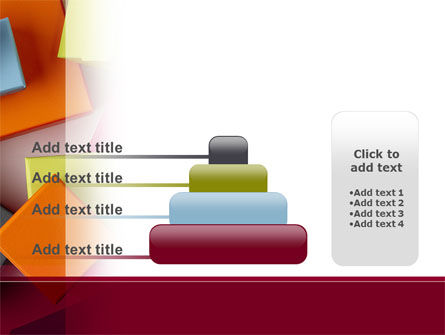 Fancy Boxes PowerPoint Template Slide 8
