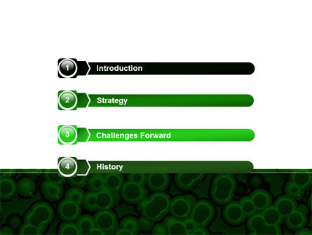 Chlorophylls Free PowerPoint Template, Slide 3, 08523, Medical — PoweredTemplate.com
