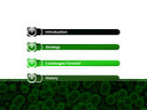Chlorophylls Free PowerPoint Template#3