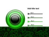 Chlorophylls Free PowerPoint Template#9