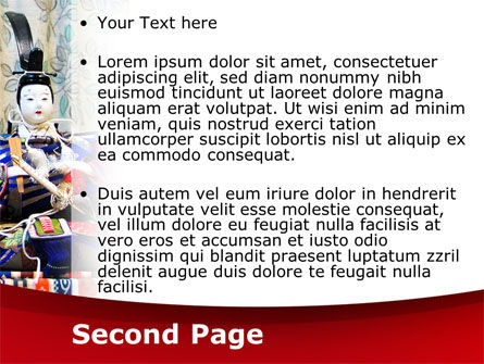 Japanese Traditions PowerPoint Template, Slide 2, 08524, Art & Entertainment — PoweredTemplate.com