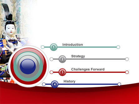 Japanese Traditions PowerPoint Template, Slide 3, 08524, Art & Entertainment — PoweredTemplate.com