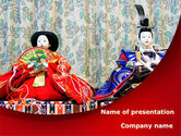 Art & Entertainment: Japanese Traditions PowerPoint Template #08524