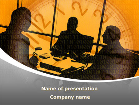 Business Talking PowerPoint Template