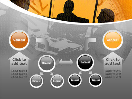 Business Talking PowerPoint Template Slide 19