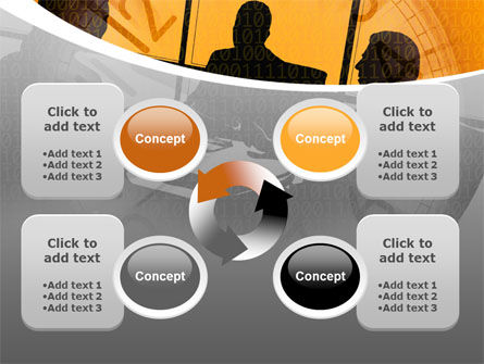 Business Talking PowerPoint Template Slide 9