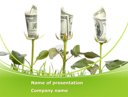 Financial/Accounting: Income Growth PowerPoint Template #08528