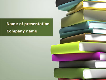 Source Of Knowledge PowerPoint Template, 08530, Education & Training — PoweredTemplate.com