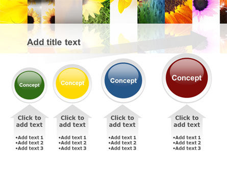 Open Flowers Bright Collage PowerPoint Template Slide 13