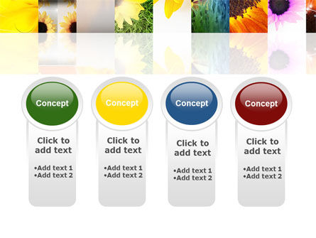 Open Flowers Bright Collage PowerPoint Template Slide 5