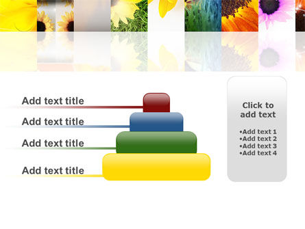 Open Flowers Bright Collage PowerPoint Template Slide 8