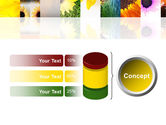 Open Flowers Bright Collage PowerPoint Template#11