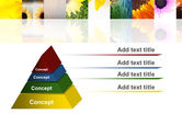 Open Flowers Bright Collage PowerPoint Template#12