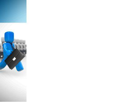 MLM Leader PowerPoint Template, Slide 3, 08535, Careers/Industry — PoweredTemplate.com