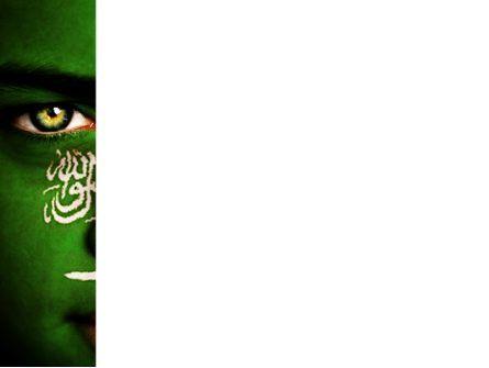 Moslem World PowerPoint Template, Slide 3, 08542, Religious/Spiritual — PoweredTemplate.com