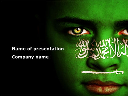 Moslem World PowerPoint Template