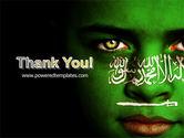 Moslem World PowerPoint Template#20