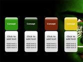 Moslem World PowerPoint Template#5