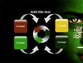 Moslem World PowerPoint Template#6