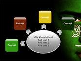 Moslem World PowerPoint Template#7