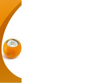 Orange In Can PowerPoint Template, Slide 3, 08544, Careers/Industry — PoweredTemplate.com