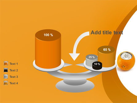 Orange In Can PowerPoint Template Slide 10