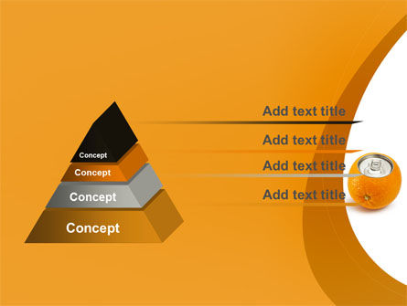 Orange In Can PowerPoint Template Slide 12