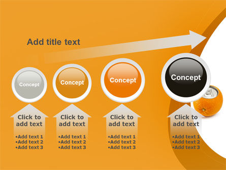 Orange In Can PowerPoint Template Slide 13