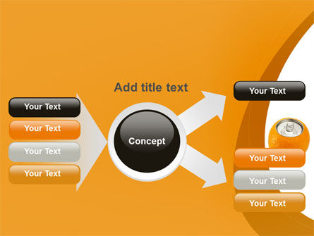 Orange In Can PowerPoint Template Slide 14