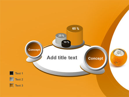 Orange In Can PowerPoint Template Slide 16