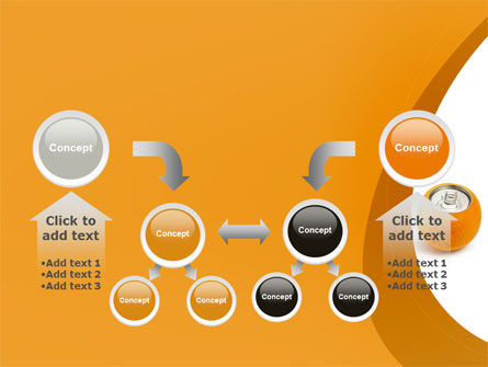Orange In Can PowerPoint Template Slide 19