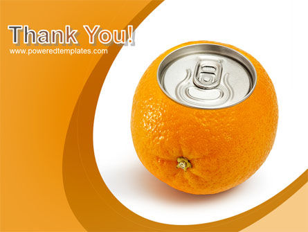 Orange In Can PowerPoint Template Slide 20