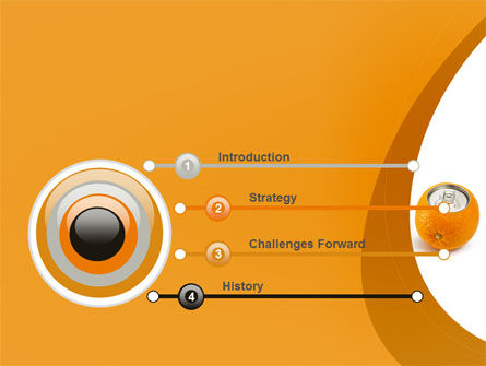 Orange In Can PowerPoint Template Slide 3