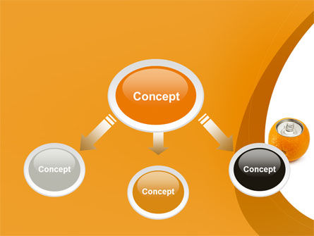 Orange In Can PowerPoint Template Slide 4